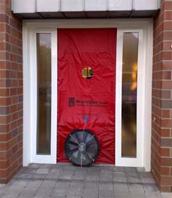 thermografie blower door messungsystem