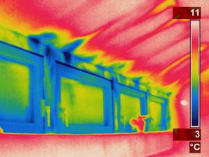 thermografie blower door undichtigkeit